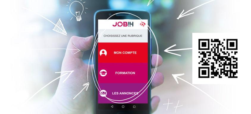 L'application JOB!H