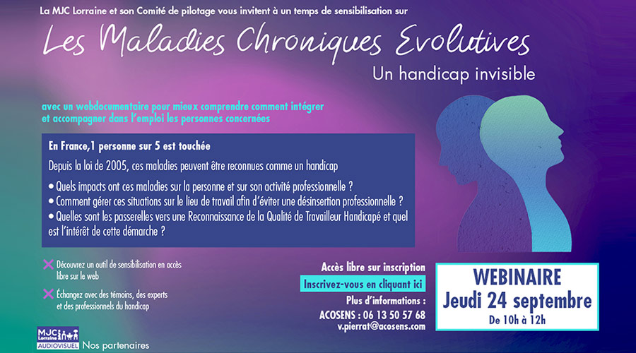 Webdocu : les maladies chroniques évolutives